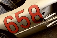 exhaust of Mercedes-Benz 300 SLR at goodwood fetsival of speed 2018