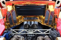 motor and bonnet of McLaren F1 at goodwood festival of speed