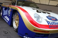 colorful Porsche 961 at goodwood festival of speed